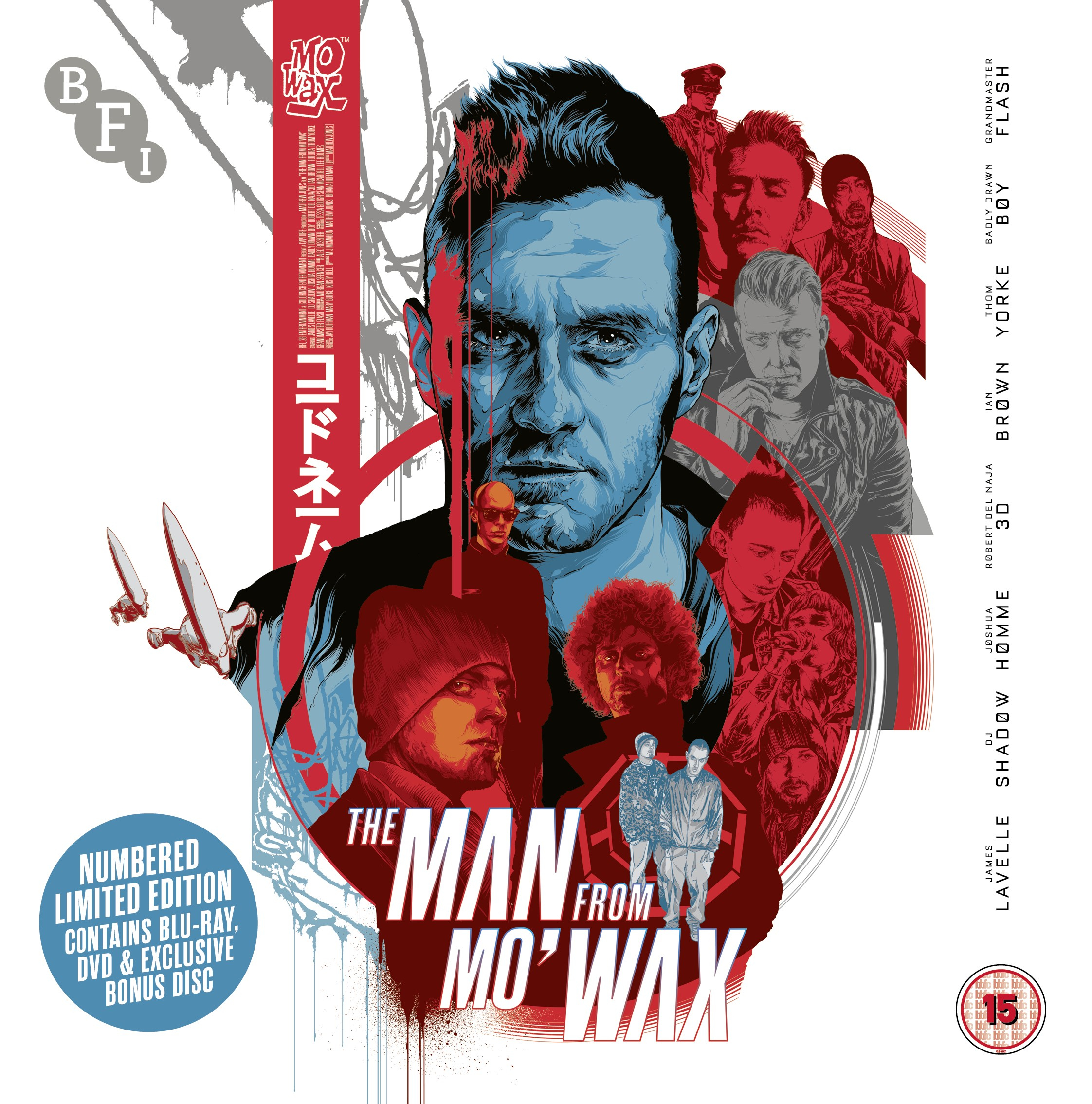Buy PRE-ORDER The Man From Mo'Wax (Limited Edition DVD/Blu-ray set)