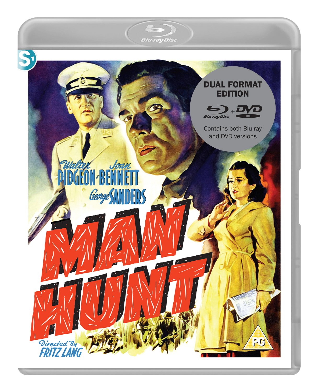 Buy Man Hunt (Dual Format Edition)
