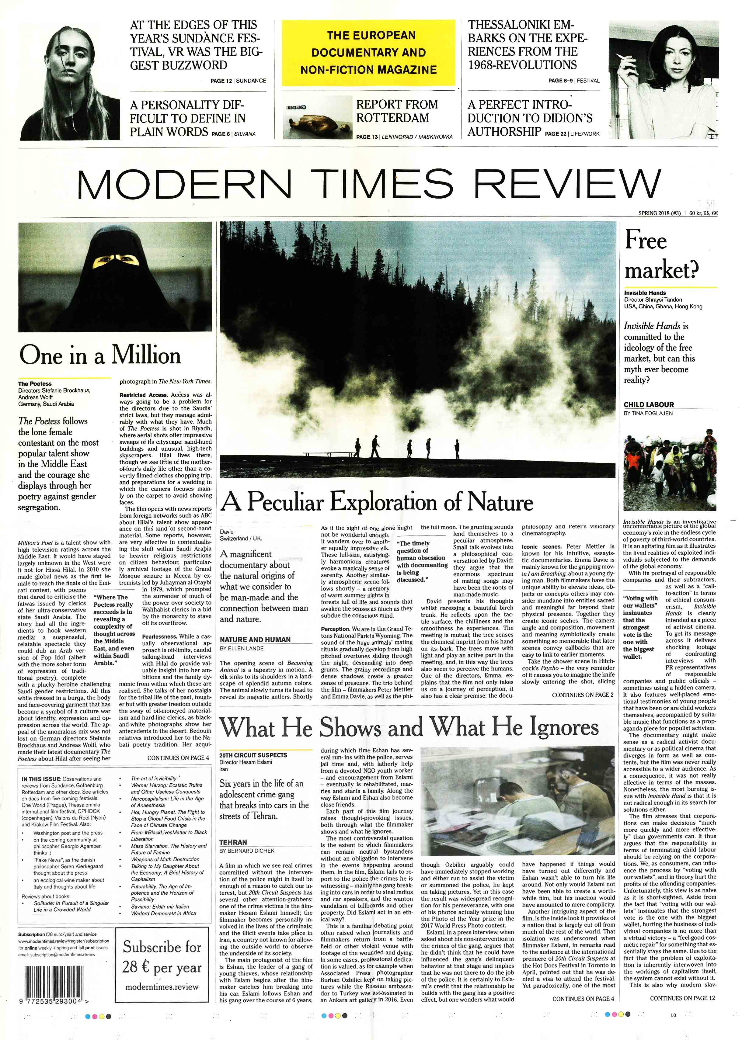 Buy Modern Times Review issue 3