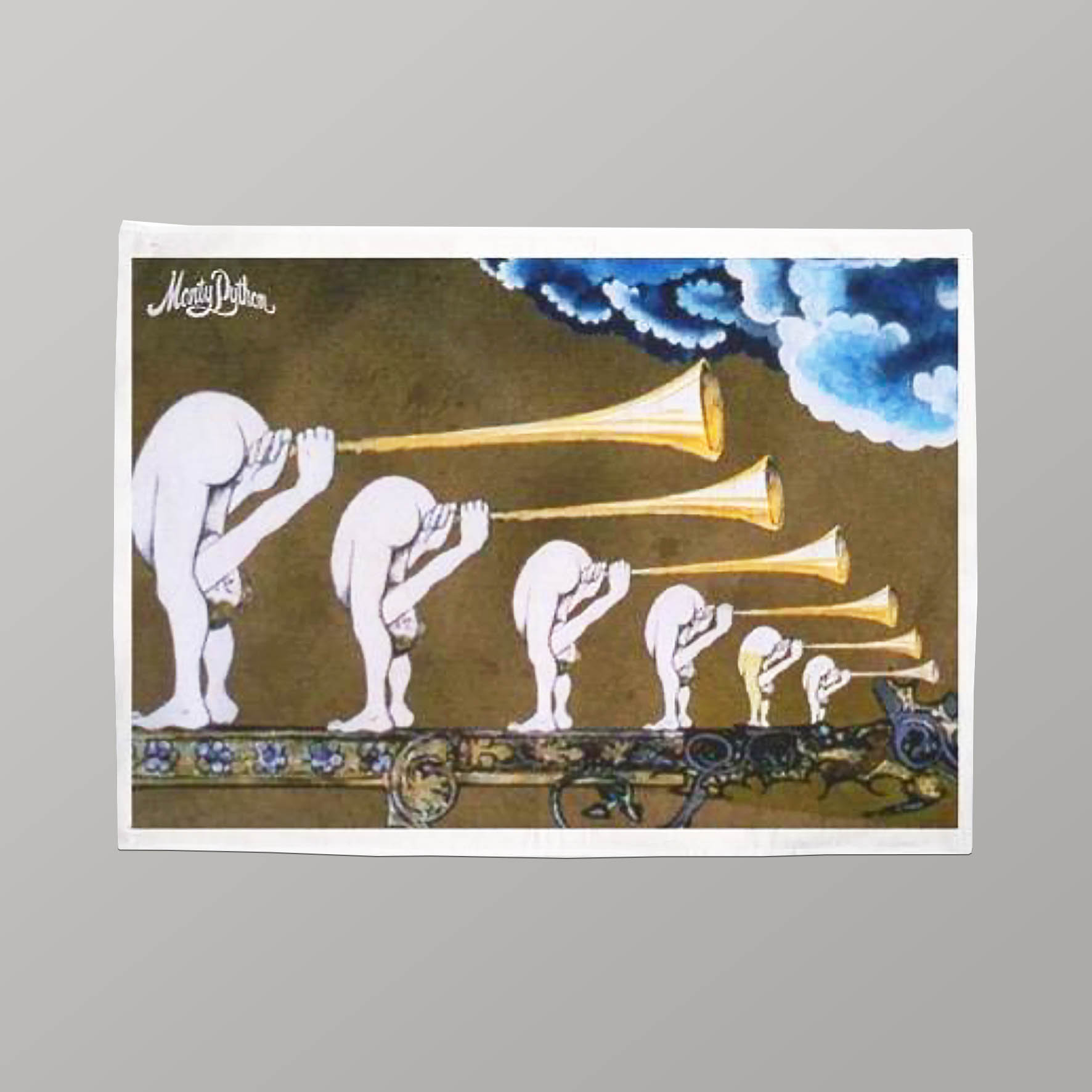 Buy Monty Python Tea Towel (Trumpets)