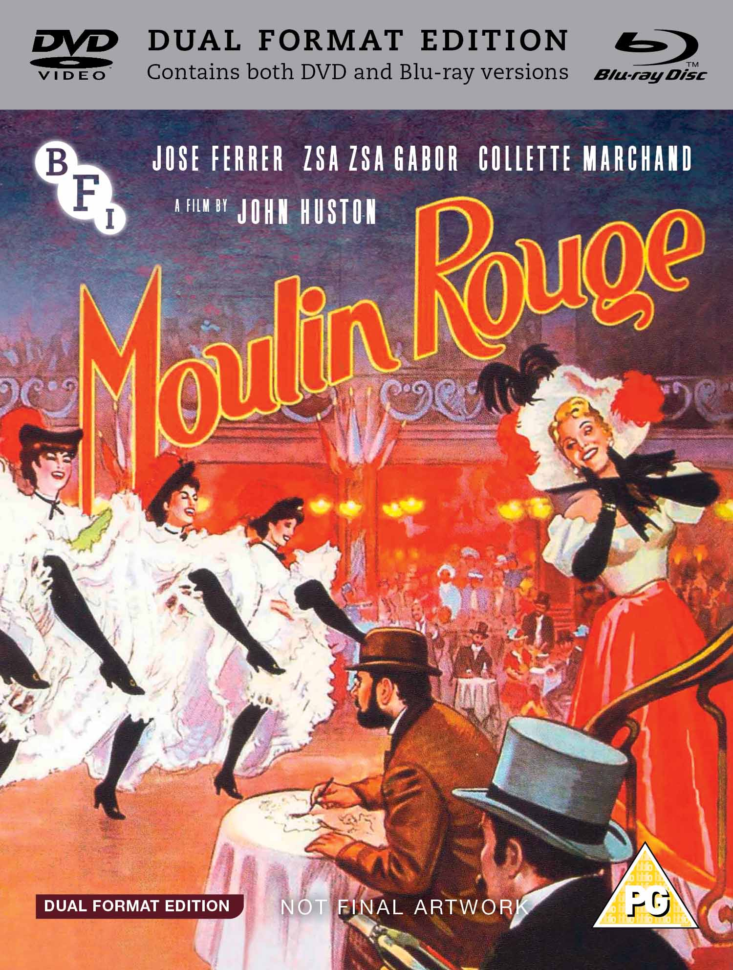 Buy PRE-ORDER Moulin Rouge (Dual Format Edition)