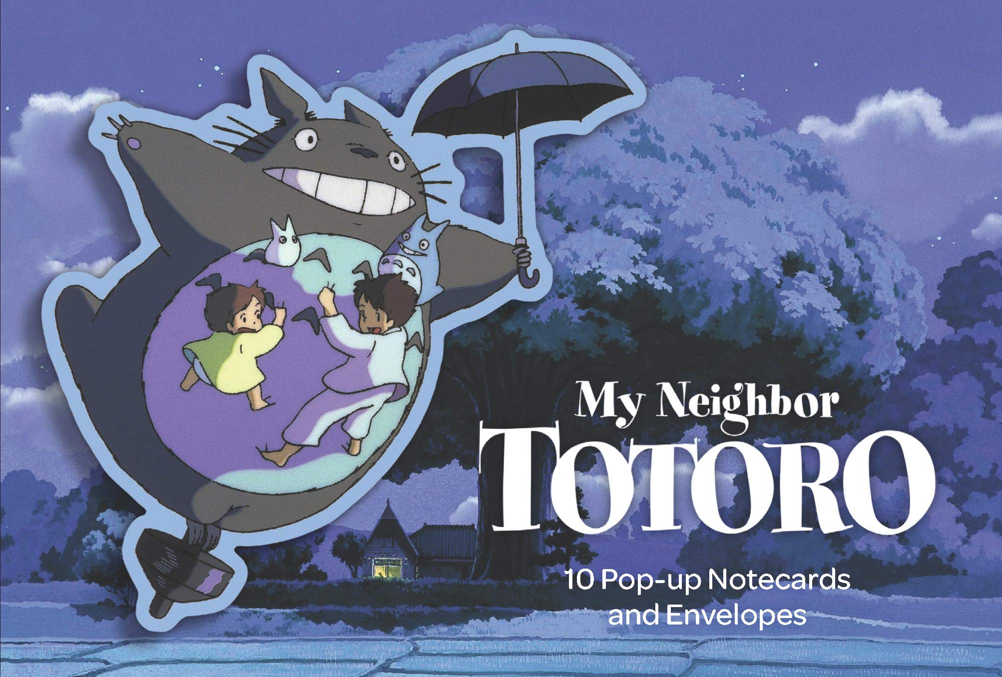 Buy My Neighbor Totoro Pop-Up Notecards
