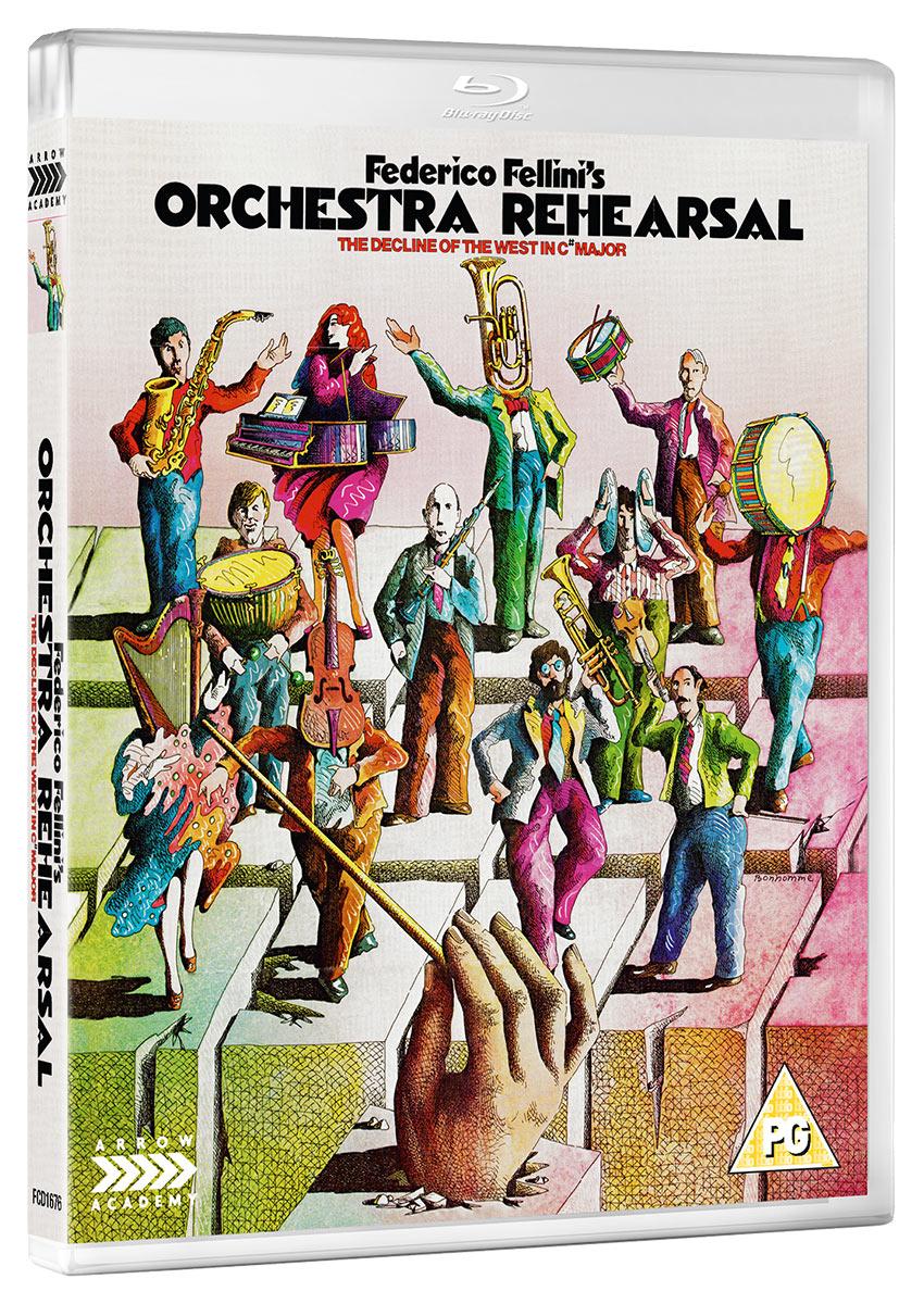 Buy Orchestra Rehearsal (Blu-ray)