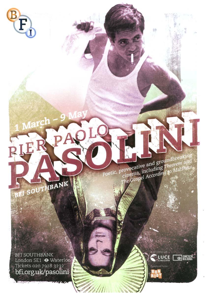Buy Pasolini BFI season poster