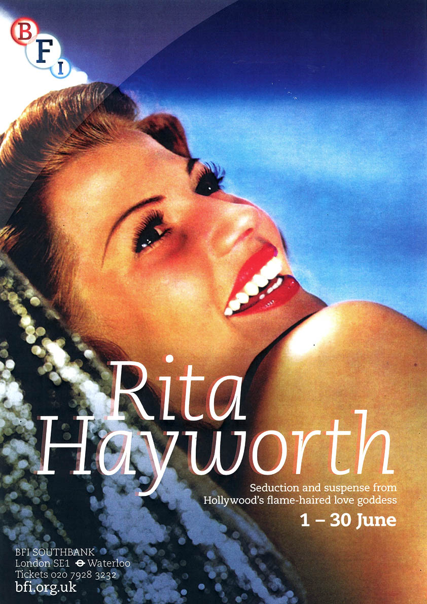 Buy Rita Hayworth BFI season poster