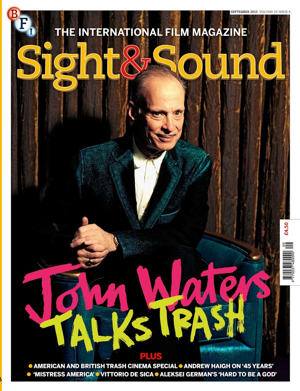 Buy Sight & Sound September 2015