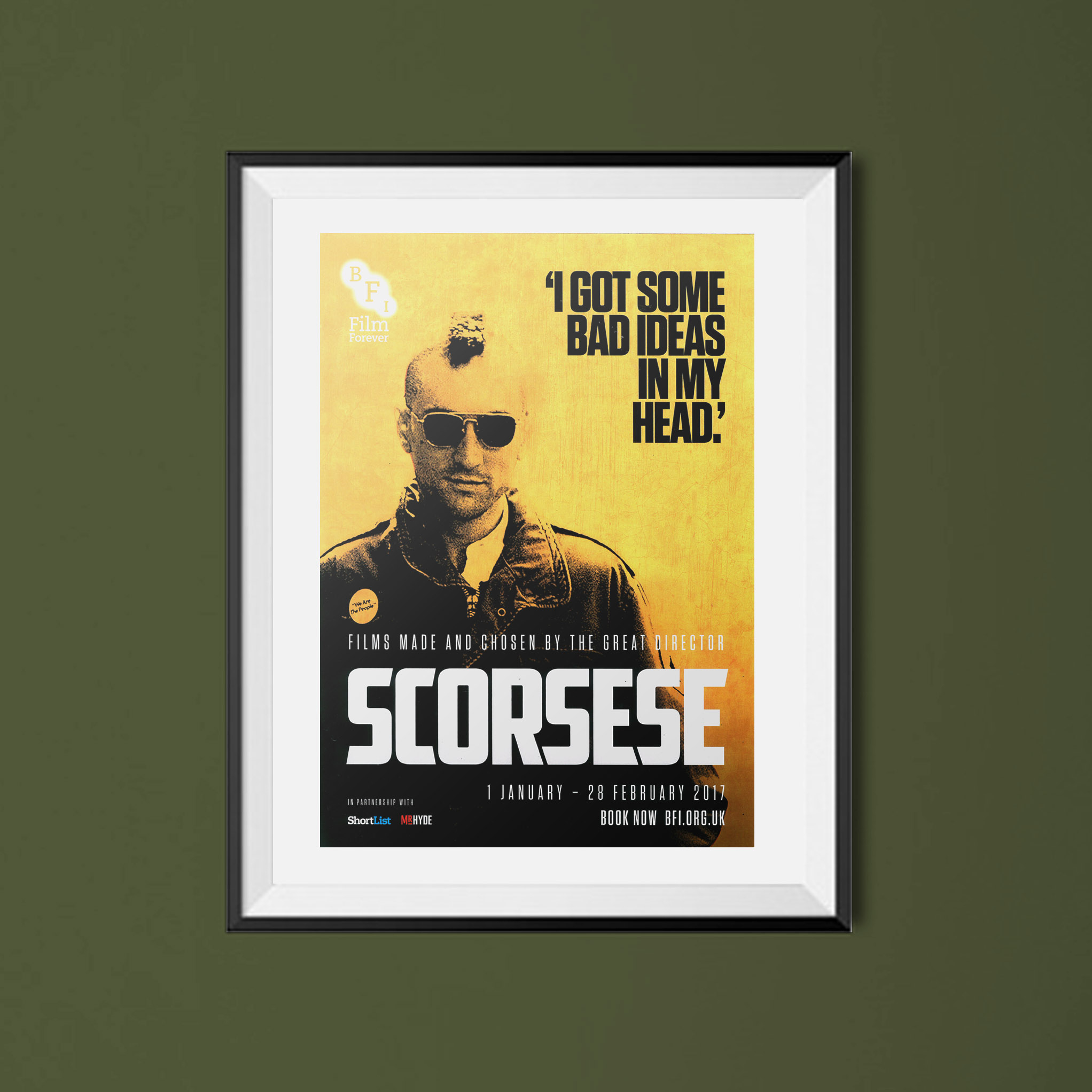 Buy Scorsese BFI season poster