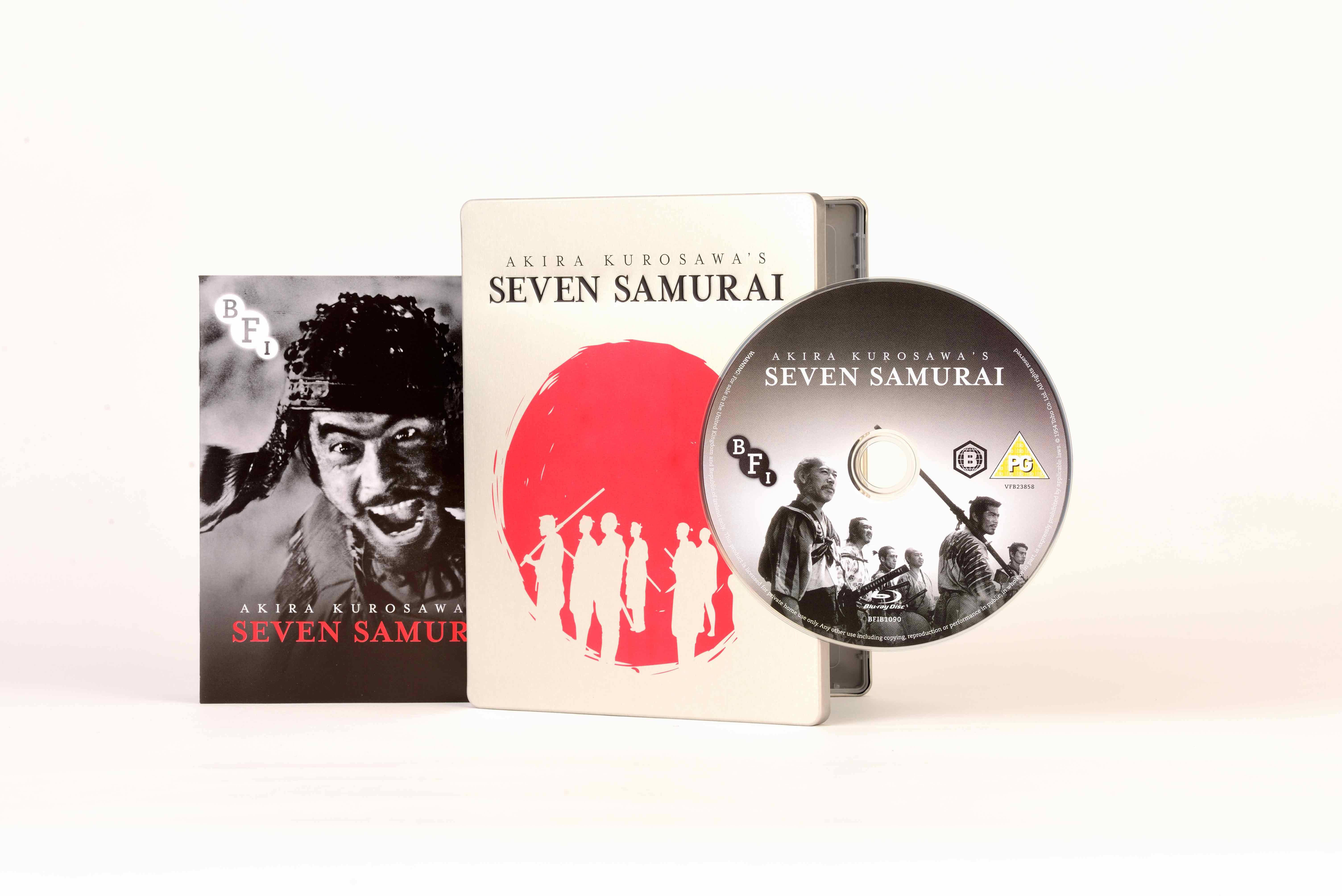 Buy Seven Samurai LIMITED EDITION BLU-RAY STEELBOOK