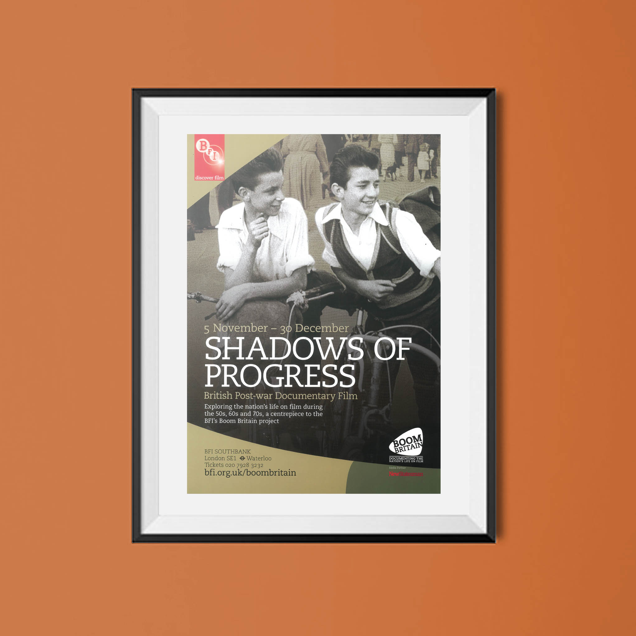 Buy Shadows of Progress BFI poster