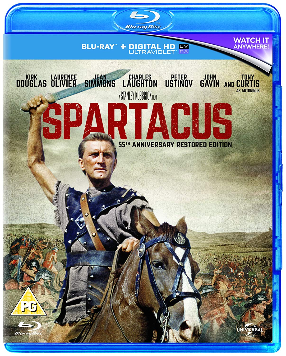 Buy Spartacus (Blu-ray)