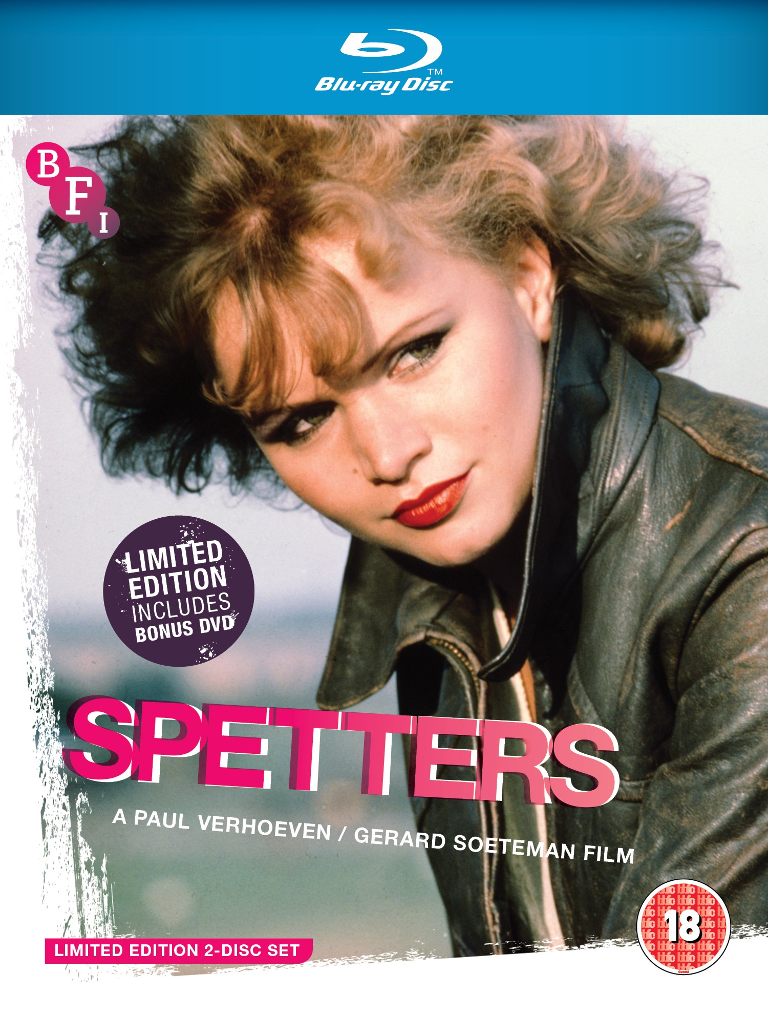 Buy PRE-ORDER Spetters (Limited Edition 2 disc Blu-ray / DVD set)
