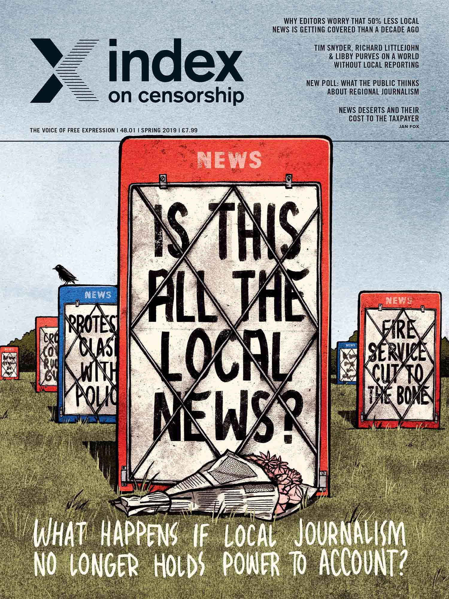 Buy Index on Censorship Spring 2019