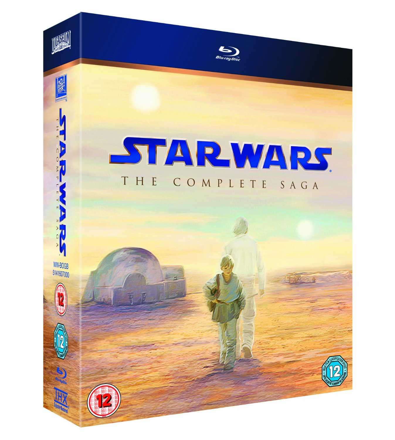 Buy Star Wars: The Complete Saga [Blu-ray]