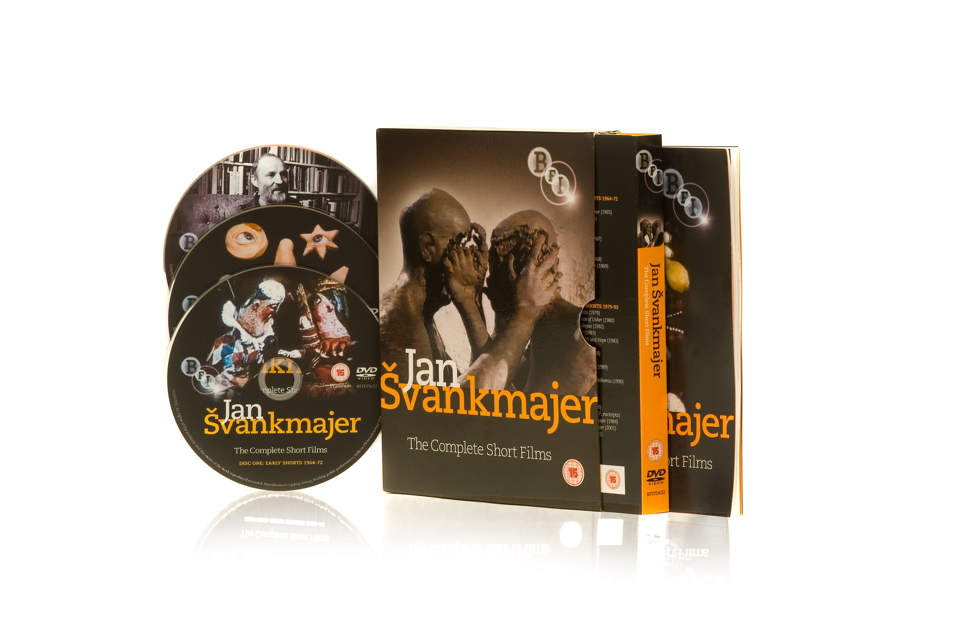 Buy Jan Svankmajer: The Complete Short Films (2-DVD set)