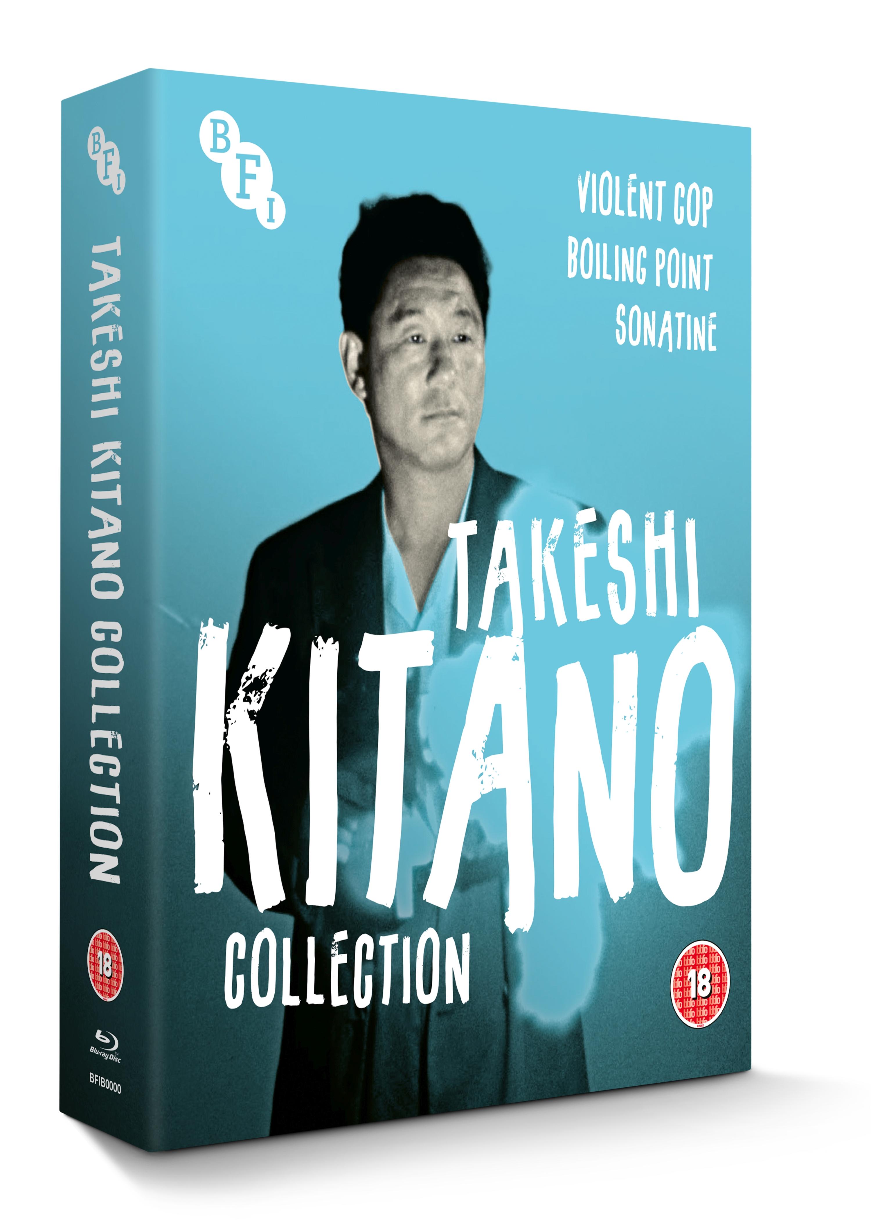 Buy PRE-ORDER Takeshi Kitano Collection (3-Disc Blu-ray Set)