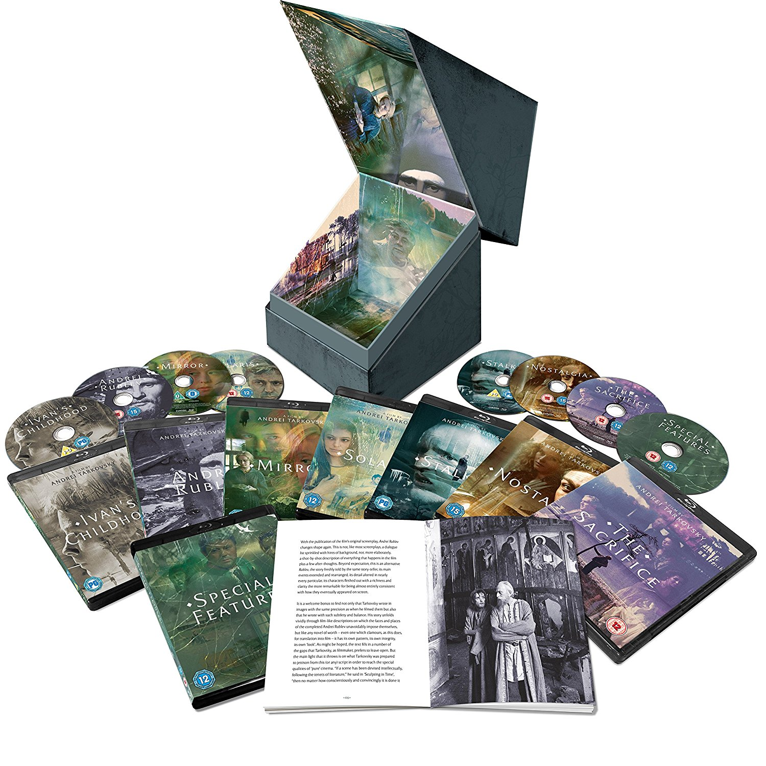 Buy Andrei Tarkovsky: Sculpting Time The Deluxe Collection (BLU-RAY)