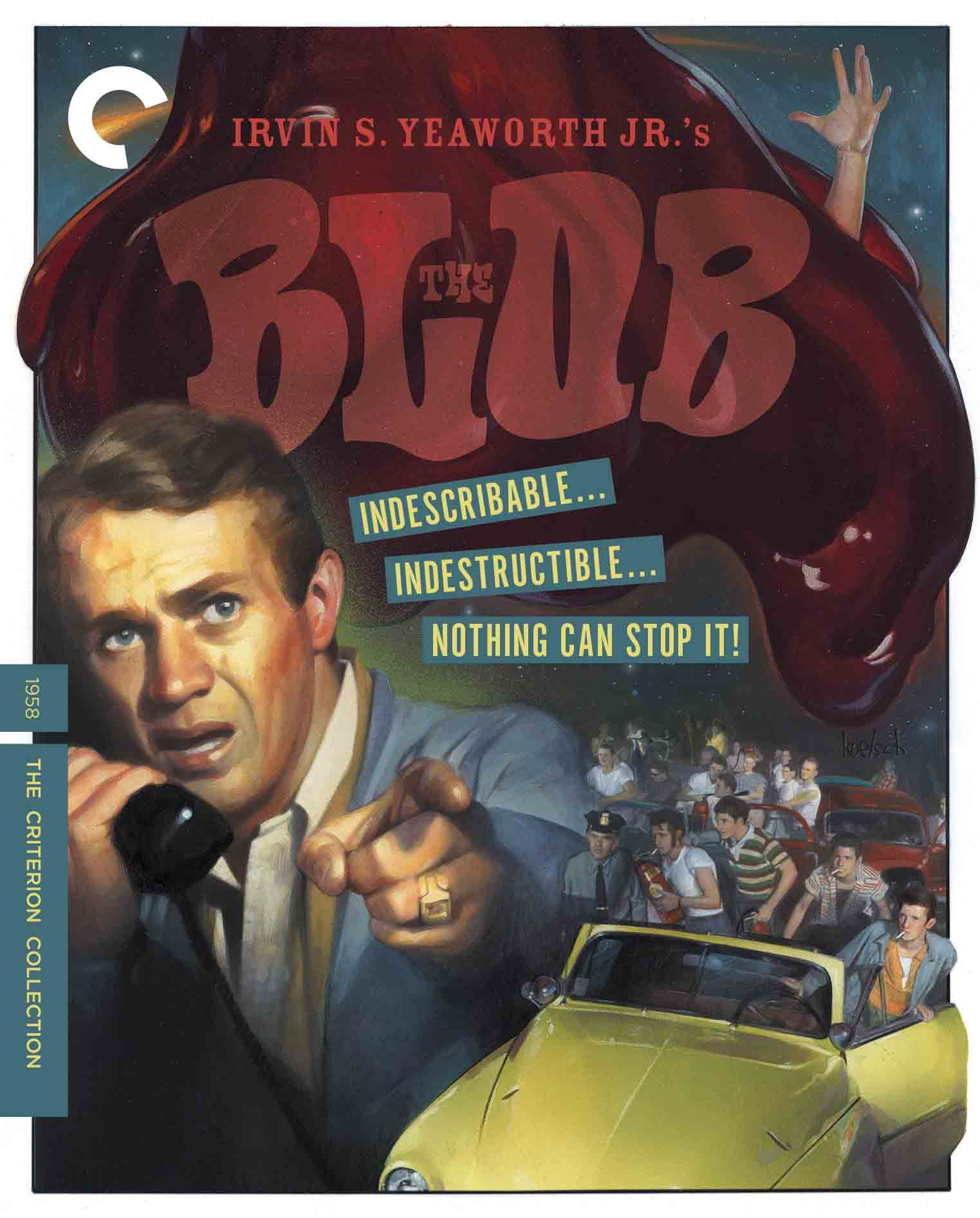 Buy PRE-ORDER The Blob (Blu-ray)