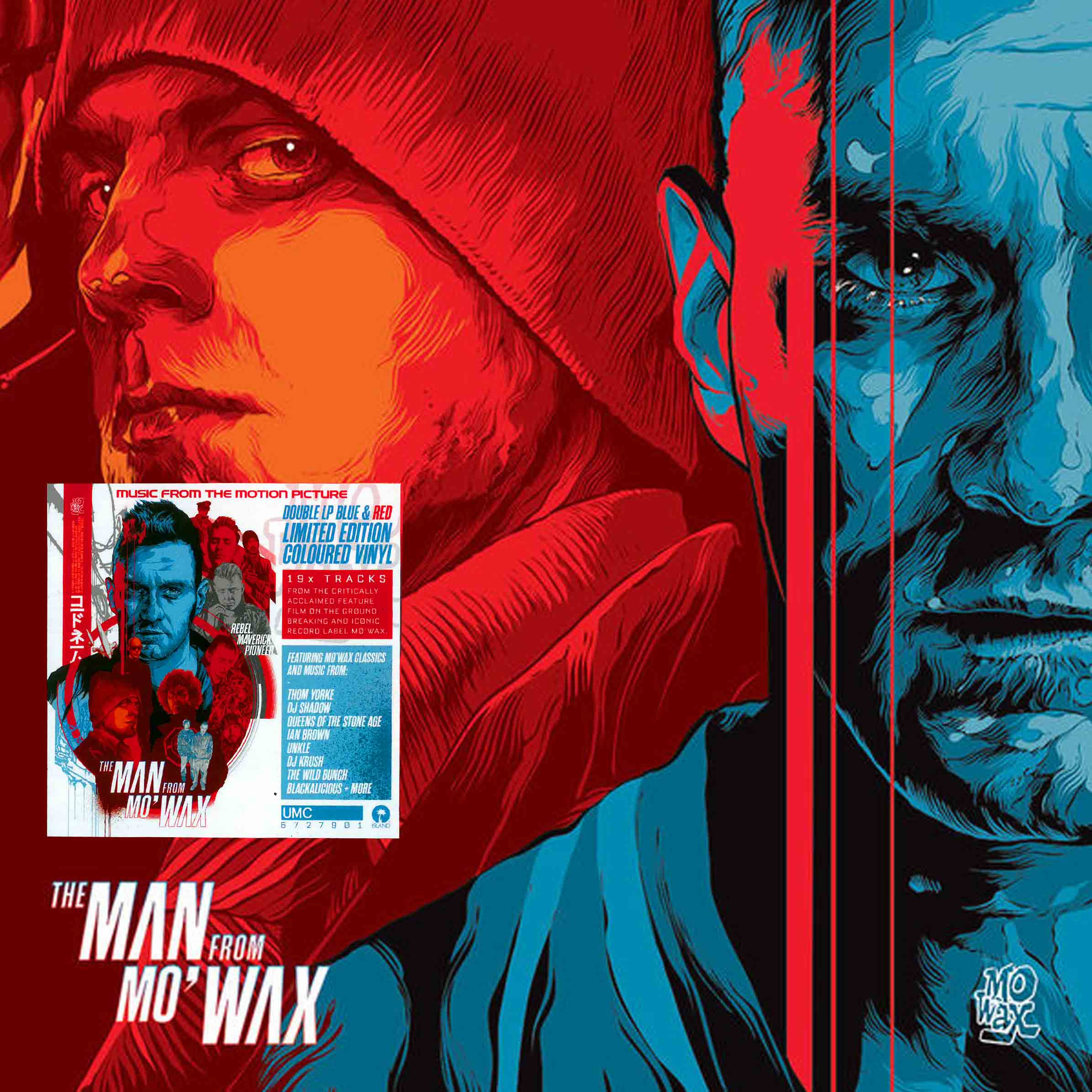 Buy The Man From Mo'Wax Soundtrack vinyl LP