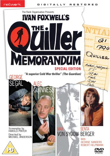 Buy The Quiller Memorandum