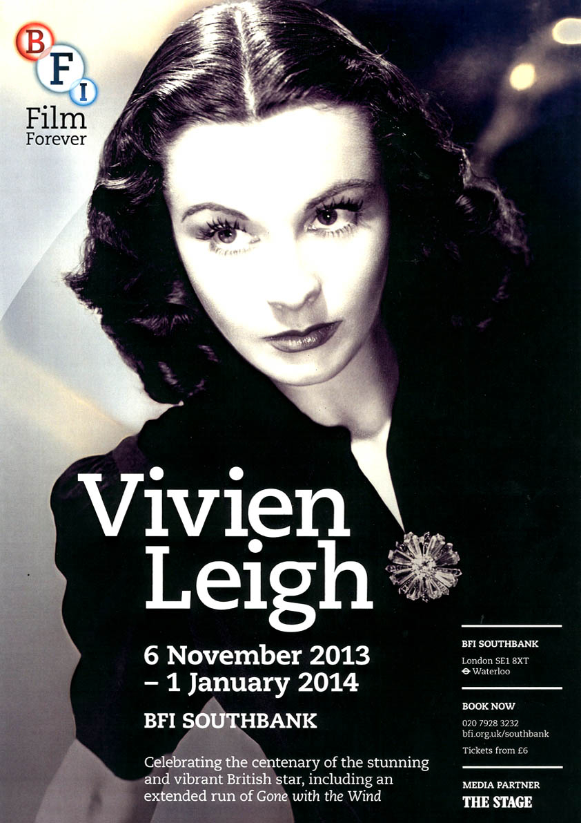 Buy Vivien Leigh BFI season poster