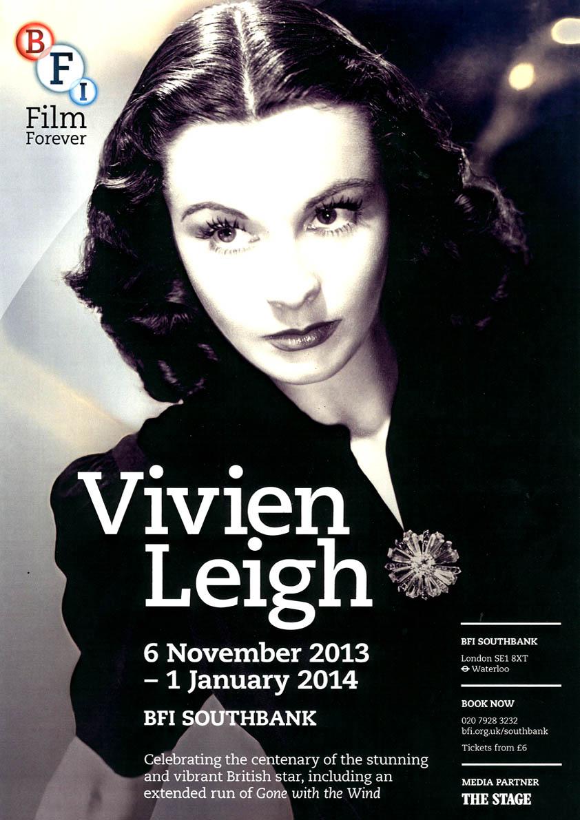 Buy Vivien Leigh BFI season poster