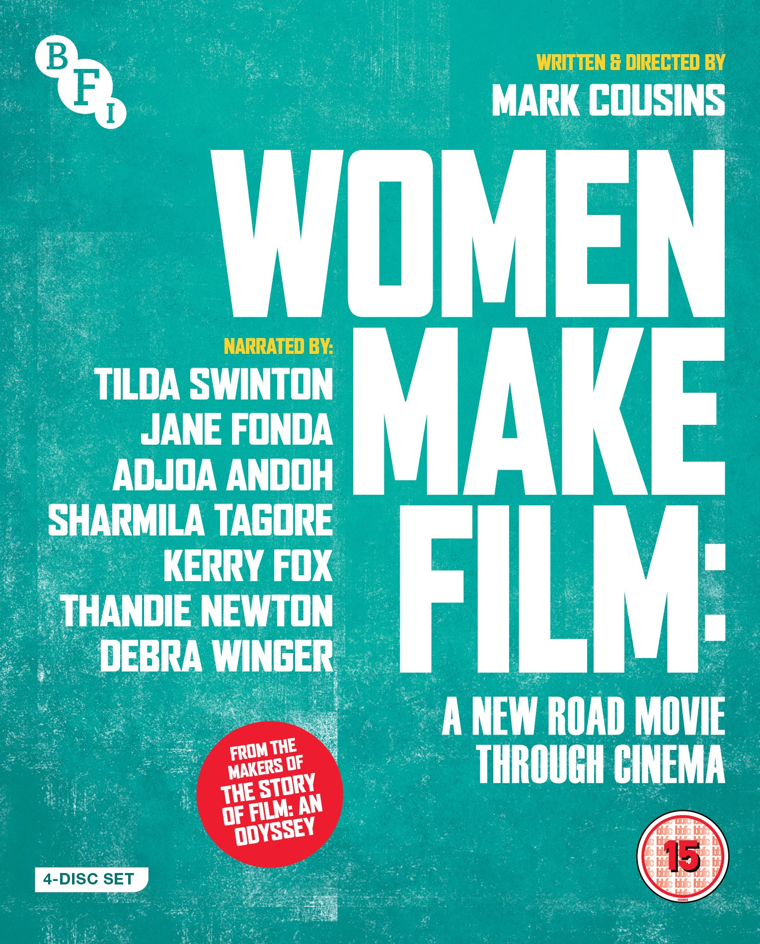 Buy Women Make Film: A New Road Movie Through Cinema (4-Disc Blu-ray Set)