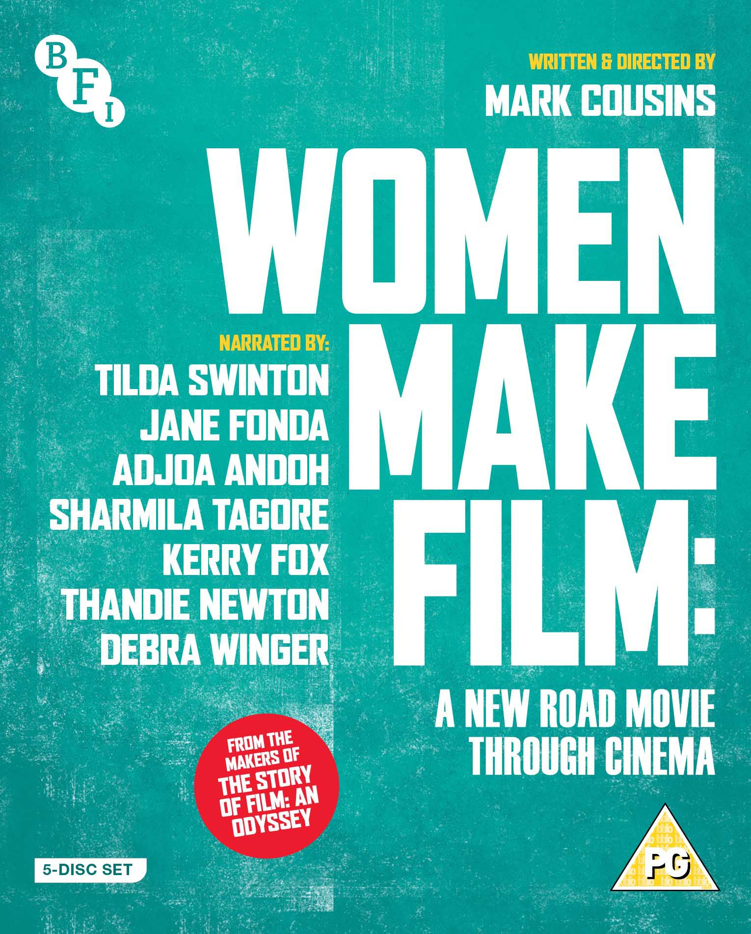 Buy PRE-ORDER Women Make Film: A New Road Movie Through Cinema (4-Disc Blu-ray Set)