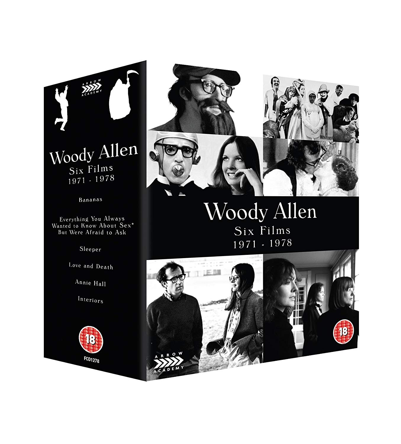 Buy Woody Allen: Six Films 1971-1978