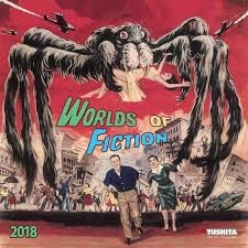Buy Worlds of Fiction 20018 calendar