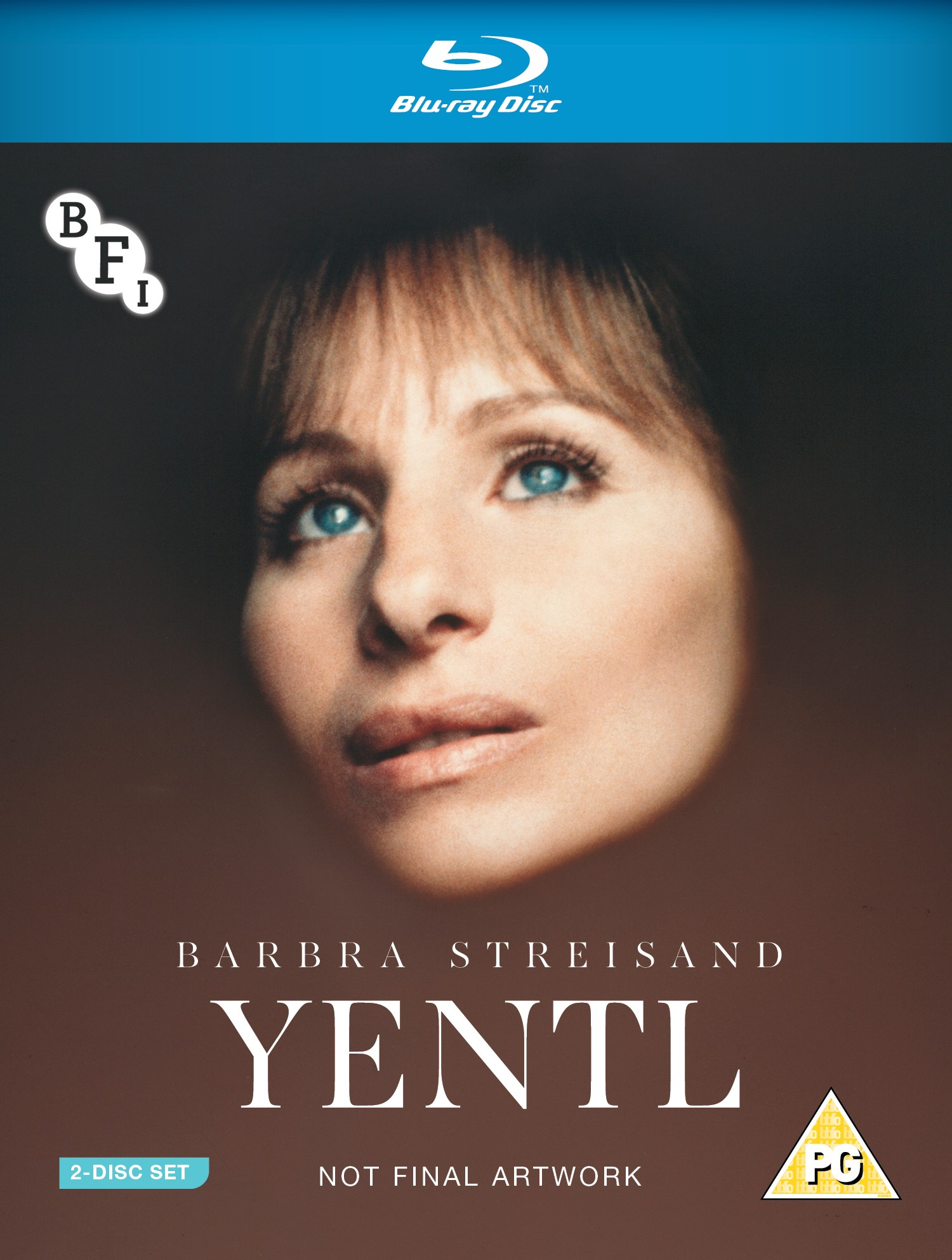 Buy PRE-ORDER Yentl (2-disc Blu-ray / DVD set)